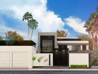 SANT1AGO arquitectura y diseño 房子 金屬 White