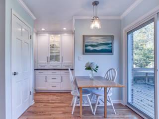 Broadway Estates Kitchen and Powder Room :  Kitchen by Studio Design LLC