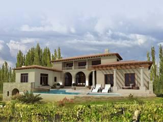 Classic style houses by Azcona Vega Arquitectos Classic