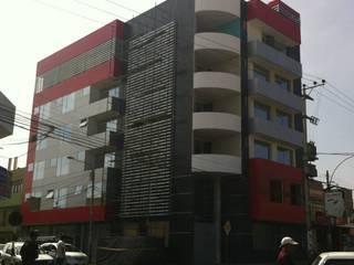 Diseño Integral y Construcción S.A.C. Hotele Aluminium/Cynk Czerwony