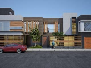 VIVIENDA : Casas de estilo  por diseño integral y construcción sac, Moderno