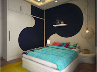 Stunning Modern Contemporary Modern style bedroom by Monnaie Architects & Interiors Modern