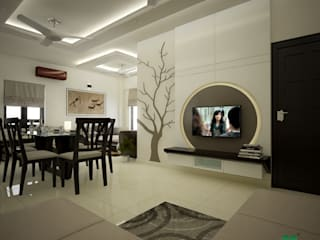Salle à manger moderne par Premdas Krishna Moderne