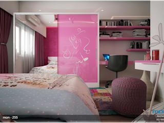 Interiors in Mixed Style... Modern style bedroom by Premdas Krishna Modern