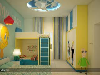 Victorian + Modern Contemporary Modern style bedroom by Premdas Krishna Modern