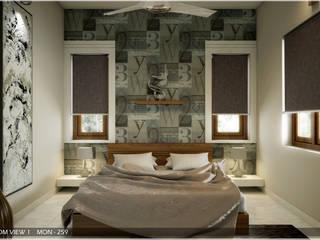 Chambre moderne par Premdas Krishna Moderne