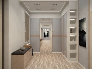 Classic style corridor, hallway and stairs by DONJON Classic