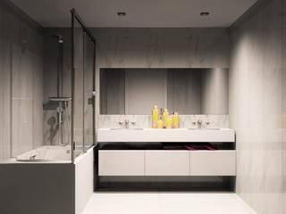 Amplitude - Mobiliário lda Salle de bain moderne