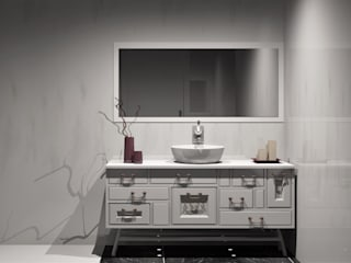 Amplitude - Mobiliário lda Salle de bain classique