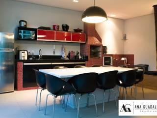 Espaço Gourmet: Cozinhas  por Ana Guadalupe Arquiteta