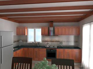 Diseño de Interior en Puán: Cocinas de estilo clásico por G-R Arquitectura