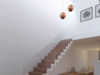 Ingresso & Corridoio in stile  di Proyectarq