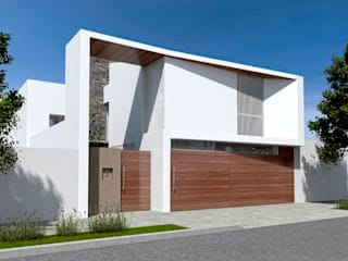 Vivienda RD Casas mediterráneas de Proyectarq Mediterráneo