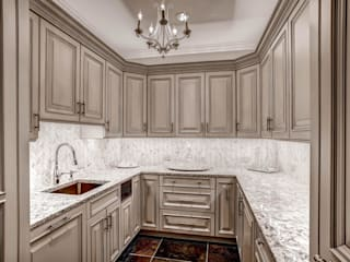 Butler's Pantry Classic style kitchen by Studio Design LLC Classic