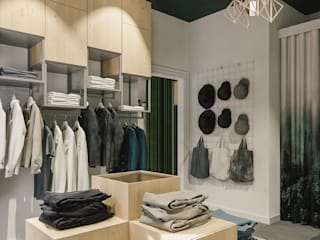 showroom od Pracownia projektowa Na Antresoli Skandynawski