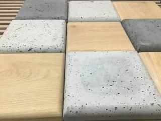 Płytki 3D z betonu architektonicznego i nie tylko : styl , w kategorii  zaprojektowany przez Bettoni