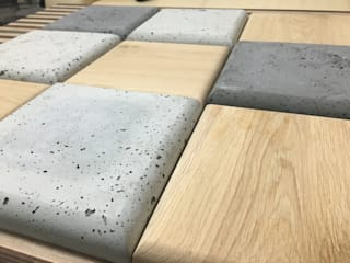 Płytki 3D z betonu architektonicznego i nie tylko od Bettoni Nowoczesny