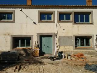 Cooperativa de la madera 'Ntra Sra de Gracia' Balcones, porches y terrazasMobiliario Madera maciza Acabado en madera