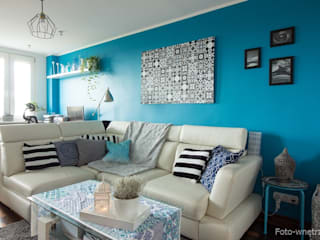 Salon: styl , w kategorii Salon zaprojektowany przez Foto-wnętrza,