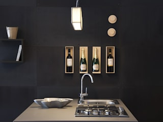 An industrial-looking kitchen Ronda Design Cocinas de estilo industrial Metal Negro