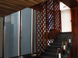 Diamond Creaciones Minimalist corridor, hallway & stairs