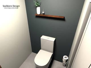 WC gościnne łk od Szalbierz Design