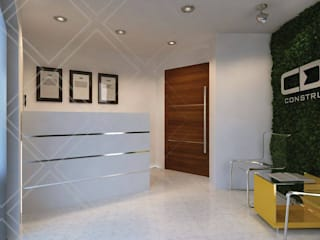 minimalistic Study/office by CDR CONSTRUCTORA