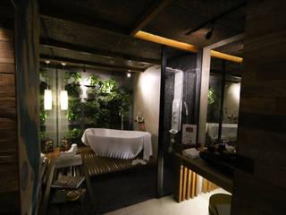 Mostra Alpha Decor 2016 Spa moderno por RMS arquitetura e interiores Moderno