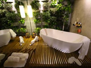 Mostra Alpha Decor 2016 Banheiros modernos por RMS arquitetura e interiores Moderno
