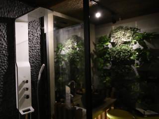 Mostra Alpha Decor 2016 Spa rústico por RMS arquitetura e interiores Rústico