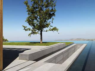 Anlage in Vorderasien, am Mittelmeer. Moderne Pools von Ecologic City Garden - Paul Marie Creation Modern