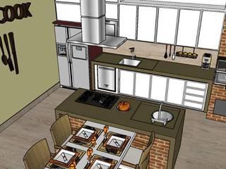 Área Gourmet - Americana/SP:   por Studio4Interiores