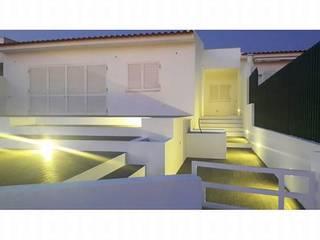 PROJETO DE REMODELAÇÃO DE EXTERIORES - ERICEIRA Jardins de Inverno minimalistas por all Design [Arquitectura e Design de Interiores] Minimalista
