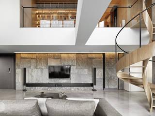 源自原本 Essence 现代客厅設計點子、靈感 & 圖片 根據 源原設計 YYDG INTERIOR DESIGN 現代風