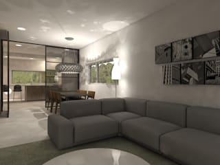Studio DEEVIS Modern living room
