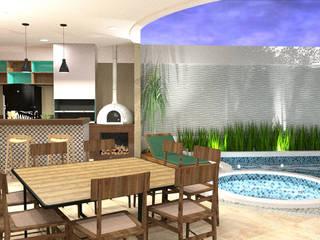 Residência R&K Casas modernas por Grupo Meta | Arquitetura, Engenharia e Meio Ambiente Moderno