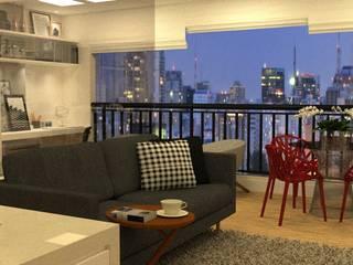 Apartamento Bela Vista Varandas, alpendres e terraços modernos por Grupo Meta | Arquitetura, Engenharia e Meio Ambiente Moderno