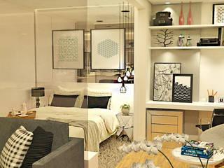 Apartamento Bela Vista Quartos modernos por Grupo Meta | Arquitetura, Engenharia e Meio Ambiente Moderno