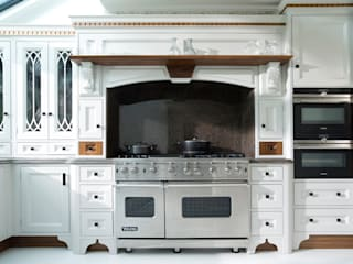 Light Grey Hand Painted Kitchen Cuisine classique par Verdi Kitchens Classique