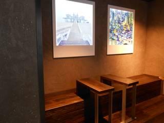 Malereibetrieb Kauroff GmbH Ruang Studi/Kantor Gaya Rustic