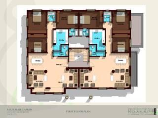 مبنى سكني خاص في مدينة نصر:   تنفيذ Ain Designs Studio