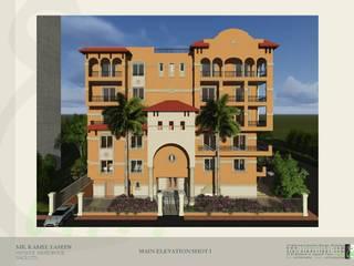 مبنى سكني خاص في مدينة نصر:  منازل تنفيذ Ain Designs Studio