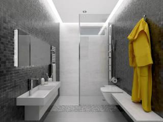 Infografías 3d de apartamento privado Cocinas de estilo moderno de A3D INFOGRAFIA Moderno