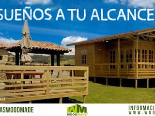 Casas de madera:  de estilo  por WoodMade,