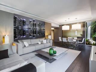 Fotoceramic Modern living room