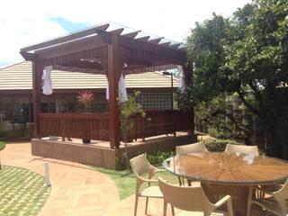 Casa em São Roque Spa rústico por RMS arquitetura e interiores Rústico
