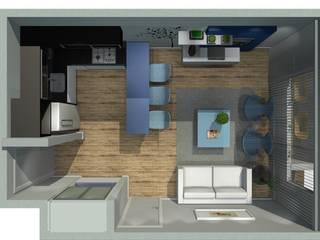 Loft em Alphaville por RMS arquitetura e interiores