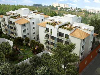 Casas de estilo moderno de ByHand Moderno