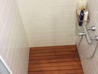 Ahşap Duş Zeminleri Tropikal Banyo Erdem Duşakabin Tasarım Atölyesi Tropikal