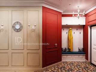 Eclectic style corridor, hallway & stairs by Студия дизайна Interior Design IDEAS Eclectic